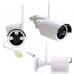 Беспроводной IP комплект видеонаблюдения WiFi  на 8 FullHD камер 1080p 2Mp с функцией аудиозаписи