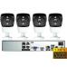 IP комплект видеонаблюдения на 4 камеры 5.0Mp POE для самостоятельной установки