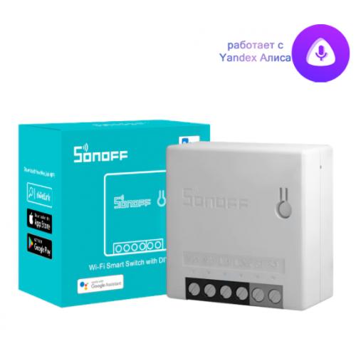 Sonoff Mini R2 - wi-fi реле для умного дома