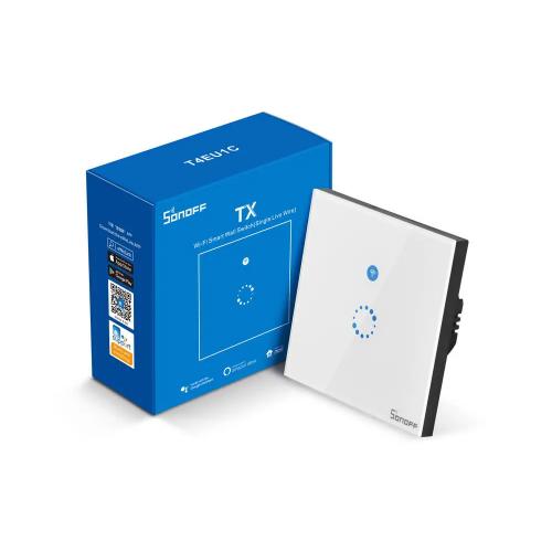 Sonoff T4EU1C настенный сенсорный выключатель wifi