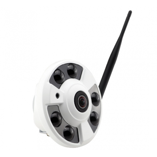 IP WiFi панорамная камера 2.0Mp 1080p FullHD Sony CMOS IMX307 Fisheye SD