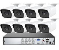 AHD комплект видеонаблюдения на 4/8 камер 5Mp