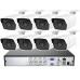 Готовый комплект видеонаблюдения на 4/8 камер 5Mp UltraHD AHD DIY