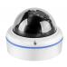 IP комплект видеонаблюдения  на 4 купольные камеры 2Mp FullHD POE для офиса, дома, магазина.