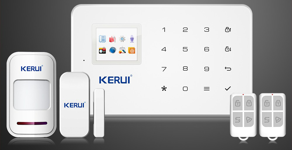 Kerui GSM alarm kit
